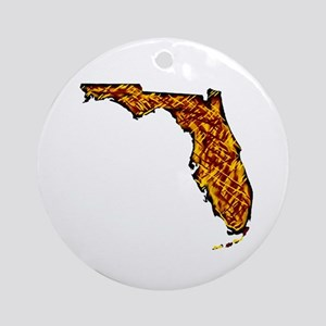 FLORIDA Round Ornament